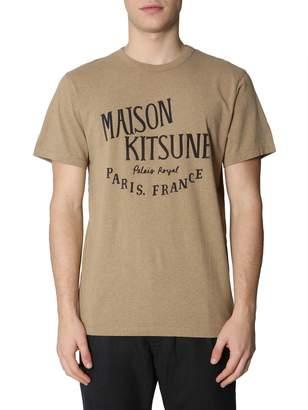 MAISON KITSUNÉ Palais Royal Print T-shirt