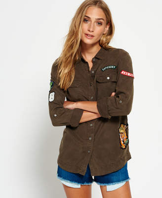 Superdry Patched Military Shirt