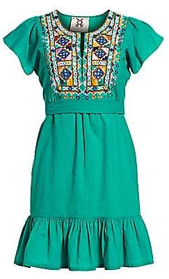 Figue Women's Florian Embroidered Dress