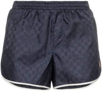 1213d85155b0 Gucci monogram bee embroidery swim shorts