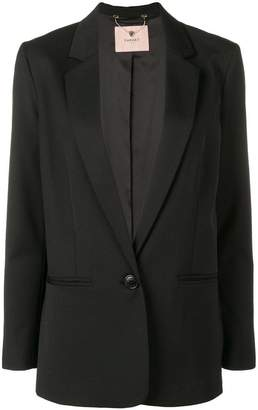 Twin-Set longline tailored blazer