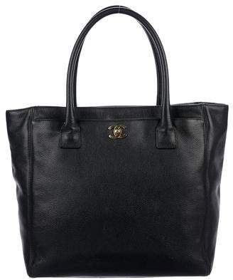 Chanel Tall Cerf Tote w/ Strap