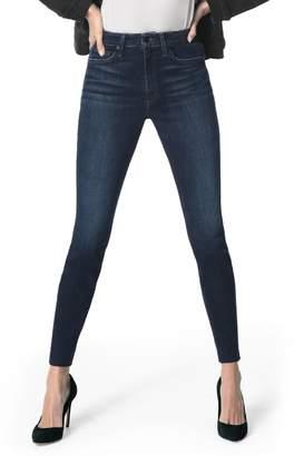 Joe's Jeans Charlie High Waist Raw Hem Ankle Skinny Jeans