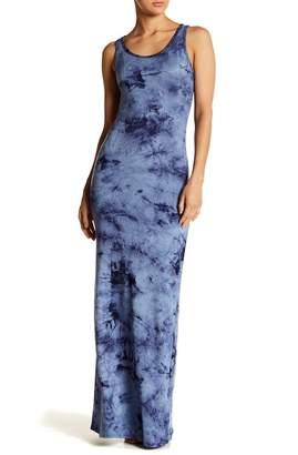 American Twist Tie-Dye Maxi Dress