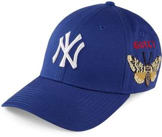 Gucci Baseball cap with NY YankeesTM patch