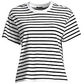 e4662e58c3cbac ATM Anthony Thomas Melillo Women's Classic Jersey Striped Short Sleeve Boy  Tee