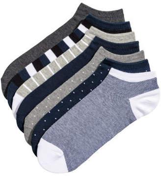H&M 7-pack Ankle Socks - Blue