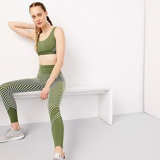 J.Crew New Balance ® for high waisted performance leggings in diagonal stripe