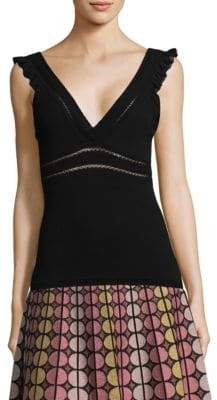 M Missoni Deep V-Neck Tank Top