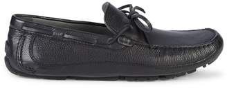 Geox Melbourne Leather Boat Shoes