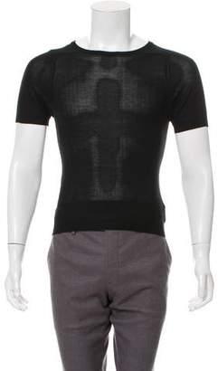 Saint Laurent Vintage Silk & Cashmere-Blend Shirt