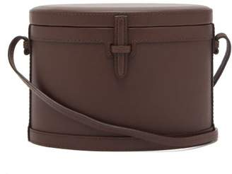 Hunting Season Trunk Smooth Leather Cross Body Bag - Womens - Brown