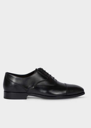 Paul Smith Men's Black Leather 'Tompkins' Oxford Shoes