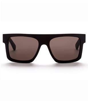 Am Eyewear Shanthani Matte Black Sunglasses