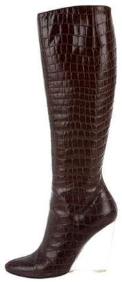 Giuseppe Zanotti Leather Knee-High Boots