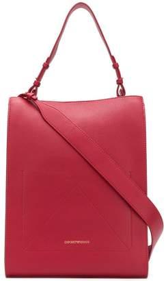 f7d4268c4bc8 ... Emporio Armani top handle tote bag