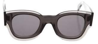 Celine Resin Oversize Sunglasses w/ Tags
