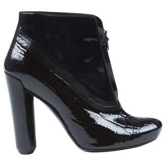 Louis Vuitton Patent Leather Boots