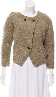 Etoile Isabel Marant Wool Button-Up Sweater