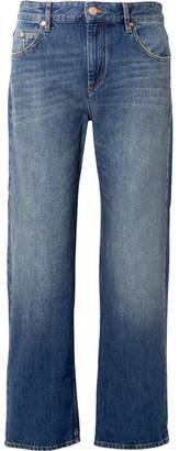 Etoile Isabel Marant Cholko Mid-rise Straight-leg Jeans - Mid denim