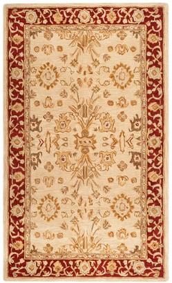 Safavieh Anatolia Madelyn Framed Floral Wool Rug
