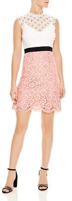 Sandro Gab Floral-Lace Pattern Dress