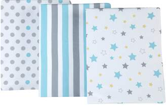 NoJo Little Bedding by 3 Piece Crib Sheets