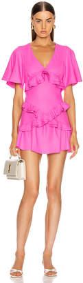 Maggie Marilyn The Jones Mini Dress in Fluro Pink | FWRD