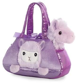 Aurora World TOYS Llama Purple Pet Carrier
