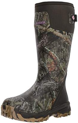 "LaCrosse Women's Alphaburly Pro 15"" Mossy Oak Break-Up Country Knee High Boot"