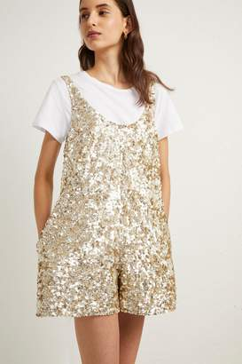 French Connenction Dia Shine Playsuit