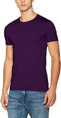 Calvin Klein Men's Travor Crew Neck Regular Fit Short Sleeve T - Shirt,X