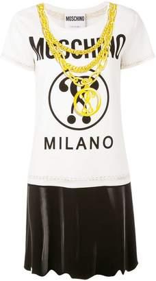 Moschino chain print T-shirt