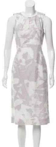 Richard Chai Printed Midi Dress w/ Tags