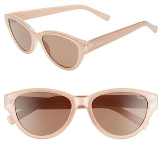 Quay Rizzo 55mm Cat Eye Sunglasses
