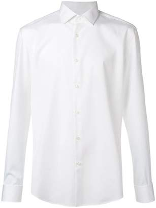 332bdcc3b HUGO BOSS White Fitted Men's Shirts - ShopStyle
