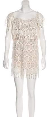 Stone_Cold_Fox Stone Cold Fox Lace Mini Dress
