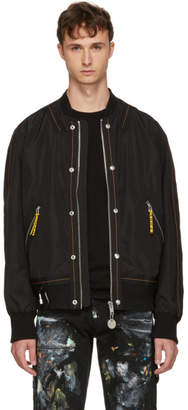 Diesel Black J-Shark Bomber Jacket