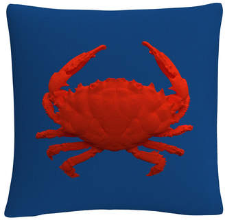 "Trademark Global Modern 3D Red Crab 16x16"" Decorative Throw Pillow by Abc"