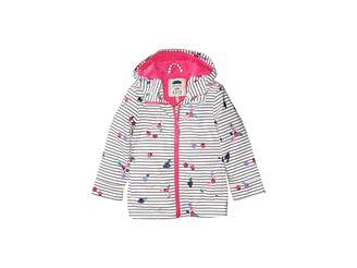 Joules Kids Printed Waterproof Rubber Coat (Toddler/Little Kids)