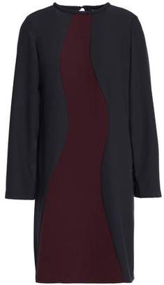 Raoul Two-Tone Crepe Mini Dress
