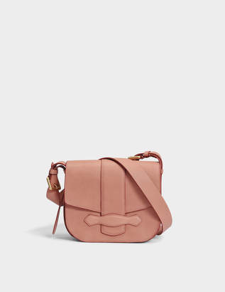 Vanessa Bruno Gemma Crossbody Bag in Bois De Rose Cowhide