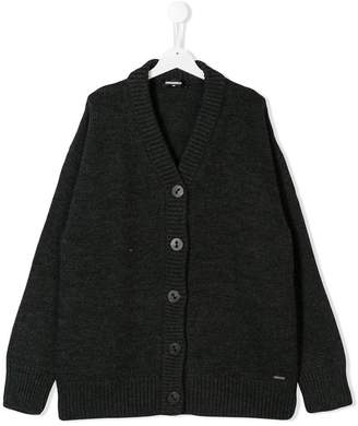 DSQUARED2 TEEN knitted cardigan