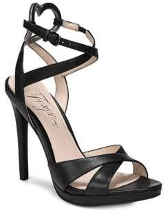 Fergie Naima Leather Ankle Strap Sandals