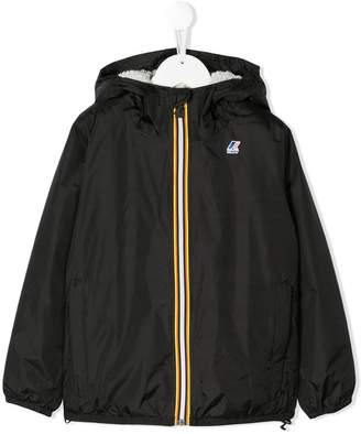 K Way Kids zipped hooded jacket