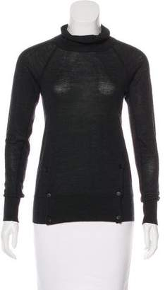 MM6 MAISON MARGIELA MM6 by Maison Martin Margiela Turtleneck Wool Sweater