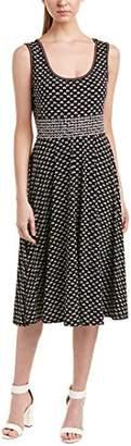 Max Studio Women's Sleeveles midi Jersey Dress