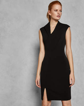 Ted Baker GEODESE Wrap front pencil dress