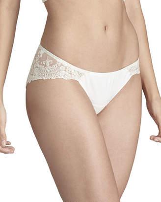 84185a80d I.D. Sarrieri Tresor en Blanche Lace-Back Bikini Briefs