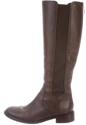 Tory Burch Christy Leather Riding Boots